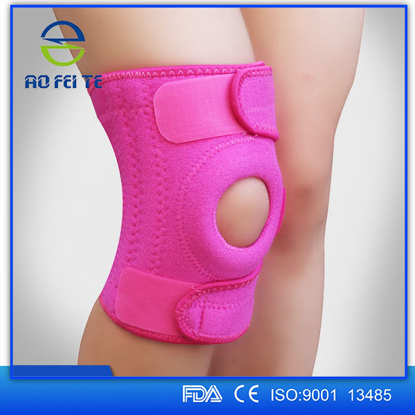 alibaba china shijiazhuang aofeite meidical device sibote crossfit neoprene spring knee support as seen on tv