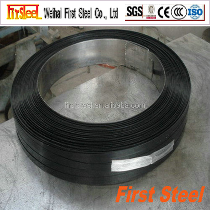 allibaba.com china supplier black painted steel banding