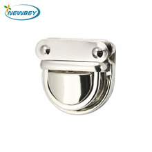 Cheap Price Wholesale Small Bag Hardware Nickel Metal Push Lock For Handbags