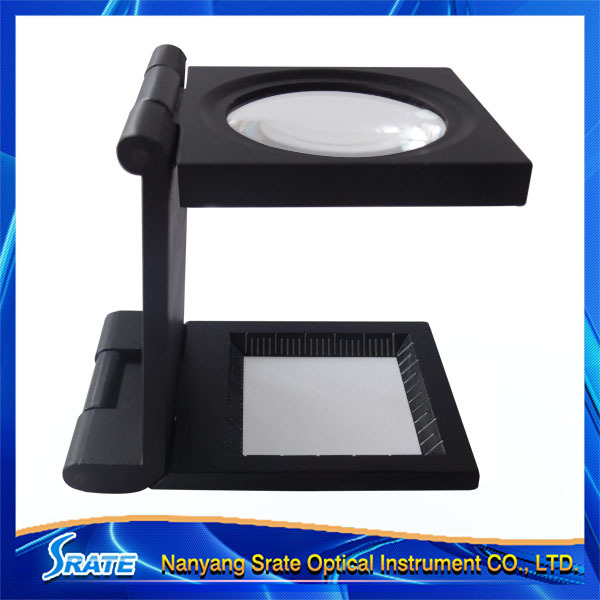 TH-9005D Metal Thread Counter folding magnifier