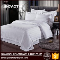 Golden star hotel natural bedding fabric sets/100 cotton bed set