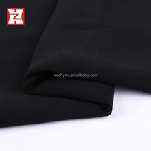 2017 high grade woven fabric 68d abaya roll spun polyester plush fabric