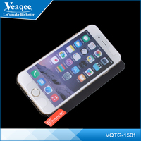 Veaqee Wholesale 9H screen protector tempered glass films for iphone 6, clear tempered glass