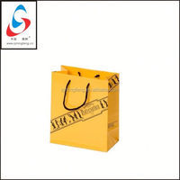 Paper Bag with handle shopping bag grape wrapping paper bag