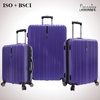 diamond embossing polycarbonate PC travel luggage case
