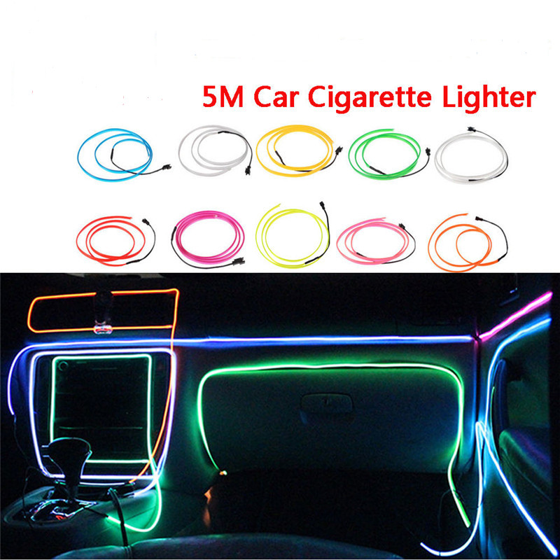 Wholesale green high brightness el wire car