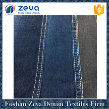 China suppliers in-stock woven denim fabric for boy's shirt