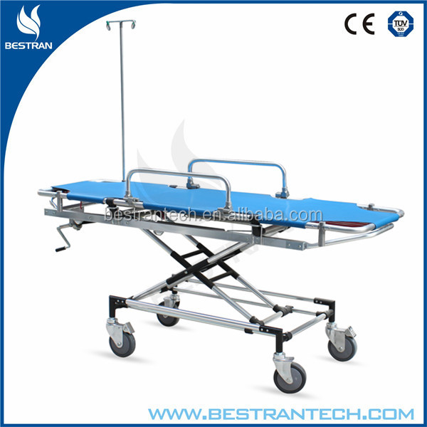 BT-TA004 Medical Ambulance Stretcher Used Folding Stretcher Corpse Trolley Price