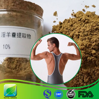 Herbal Anti-aging and Improving Immunity supplement Epimedium Extract Icariin
