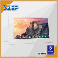 10.1 inch 1024*600 resolution mp3 gif digital photo frame support wifi