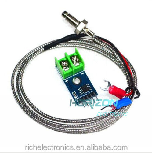 2PCS MAX6675 Module + <strong>K</strong> Type Thermocouple Thermocouple Sensor