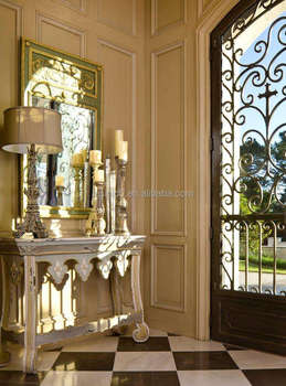 Antique European Style Villa Entranceway 3d Computer Rendering Design