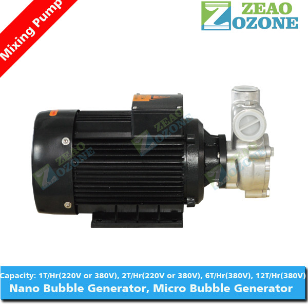 High mixing efficiency equipment ozone water mixer pump micro bubble generator for spa bath