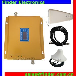 Golden mobile network solution GSM /DCS booster 900mhz 1800mhz repeater signal dual band signal repeater
