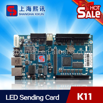 Single and full color led display wifi controller xixun <strong>K11</strong>