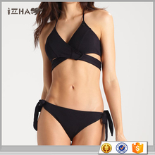 Custom Brazilian Women Open Swimwear Hot Full Brazil Girl Black Beauty Bikini