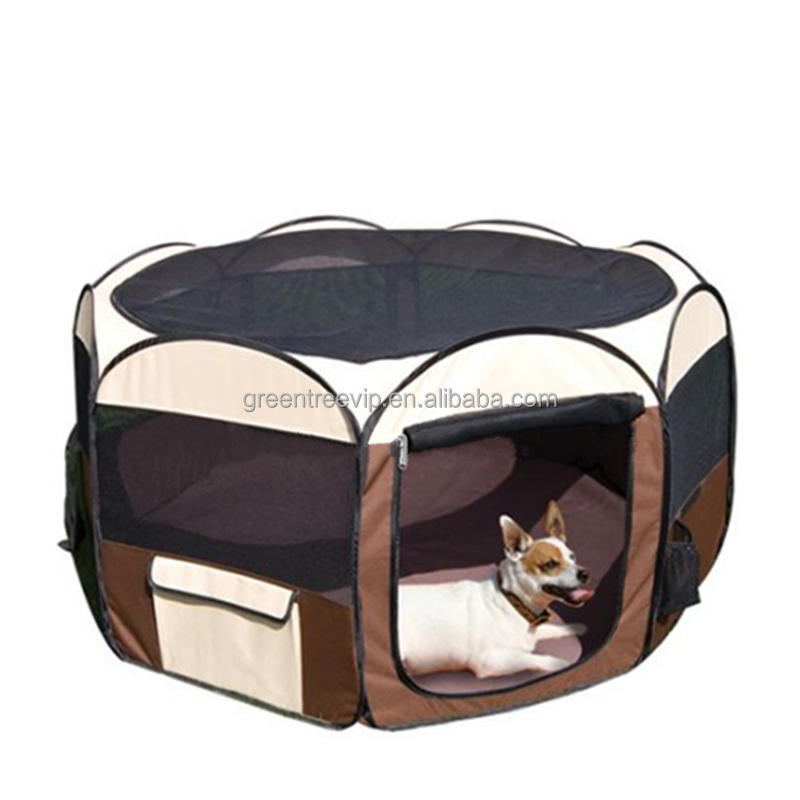 Portable Pet Dog Cat Tent Cage Large Playpen