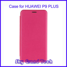 High quality Pattern leather flip case for Huawei P9 Plus