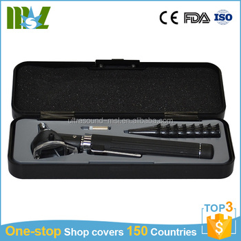 Luxury High Quality ENT diagnostic set ophthalmoscope otoscope