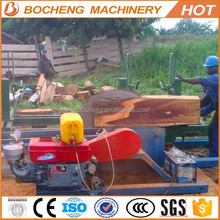 Portable vertical circular sawmill / circular saw machine
