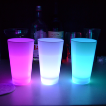 Colorful light bar favor Flashing plastic led ice cup
