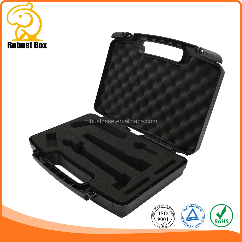 Robust Plastic Tool Carry Cases with Foam and Logo Printing for medical equipment instrument