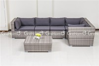 cane and bamboo furniture 7 seater sofa set
