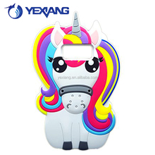 For Samsung Galaxy S8 Plus Cute Animal Unicorn Horse Back Cover Silicone Cell Phone Case