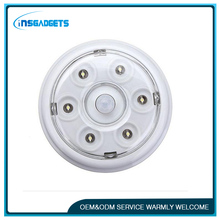 NEW 6 LED Light PIR Infrared Auto Sensor Motion Detector Bulb Battery Powered Door Wall Light Lamp High Quality