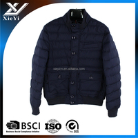 Bulk wholesale hip hop clothing mens bomber jacket with color block softshell jacket
