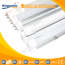 Kingunion 85-265V PF0.5 PC+AL 18W LED Tube Lights with 3 years warranty For home zoo