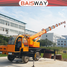 Small 5 ton Boom Truck Crane in Dubai Sale