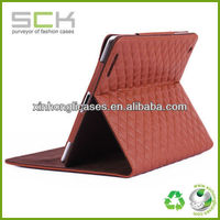 For iPad leather case, stand leather case for iPad, For iPad 3 leather smart case