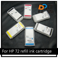 72 large format Ink Cartridge For HP T770 T790 T1200 T2300 Inkjet Printer
