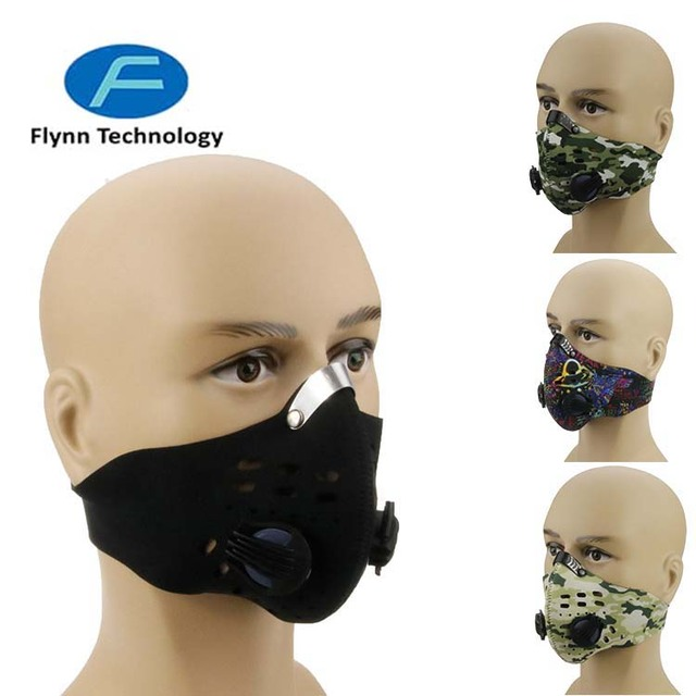 Protection Air PM 2.5 Filter 5pc Activate Carbon Cycling Custom Dust-Proof Face Mask