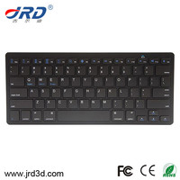 black / white super slim 78 keys bluetooth wireless keyboard for android