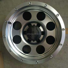 via aluminum wheels/alloy wheels