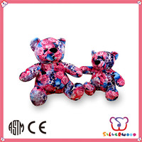 ICTI Factory soft cute custom lovely plush nurse bear toy
