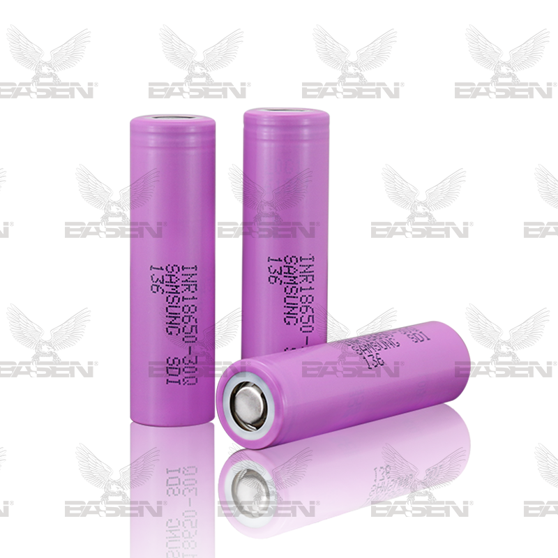 Authentic 30Q 3.7v Pink samsung inr18650-30Q battery 18650 15amp the battery samsung 25r 18650 imr 18650 2500mah battery
