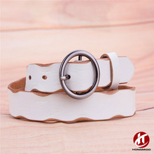 Hot Chastity Trouser Cowhide Genuine Leather Belt 2017 for Women