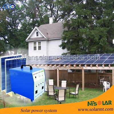 solar system with 250W Monocrystalline price per watt solar panels For Home Use solar system