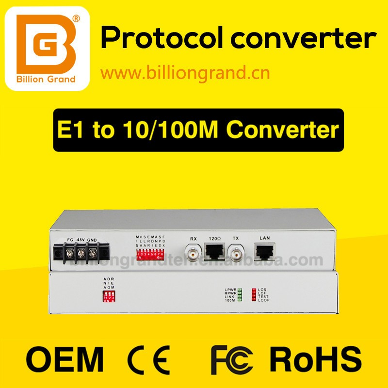 Hot selling PDH Multiplexer / Protocol Converter e1 ethernet
