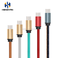 New Product Strong Leather High Quality Original Type-C Usb 3.0 Data Charging Cable