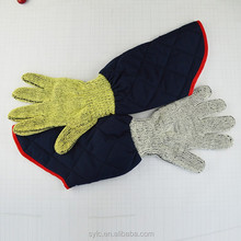 kitchen heat resistant gloves/oven mitts