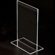 Acrylic Table Stands Menu Card Holders Display Stand