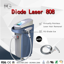 2016 Professional Diode Laser 808nm Cooling Hair Removal Laser Device
