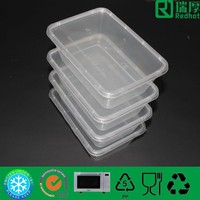 Food pack for restaurant easy open plastic food container 750ml