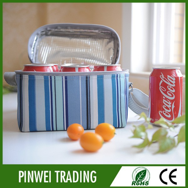 freeze food travel bag / freezer bag for travel