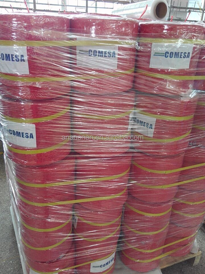 sewing thread/fibrillated pp yarn/new material 3 strand rope manufacturer