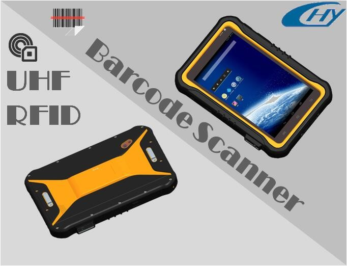 CSP-708M 7 inch Android wireless 3G barcode scanner RFID tablet PC